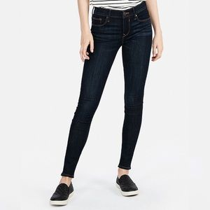 Express Jean Legging, Mid-Rise 6R